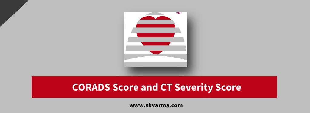 CORADS Score, CT Severity Score